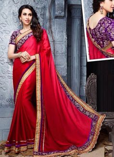 Surat Wholesale Red Georgette Saree Collection http://www.suratwholesaleshop.com/10045-Pretty-Georgette-Red-Embroidered-Work-Designer-Saree?view=catalog   #wholesalesaree #Bulksaree #Designersaree #Suratwholesaleshop