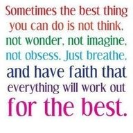 Faith words-to-live-by! My fave quote!!