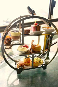 Asian Chocolate Afternoon Tea Bar @ Sky Lounge wonderful presentation