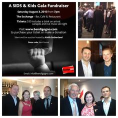 Charity auction for Sids and Kids