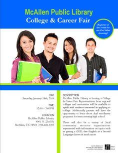 College & Career Fair. Jan 2014, MPL Teen's.