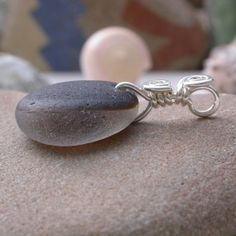 North Sea Cinnamon Pendant With Ultra Rare Seaham Sea Glass | Out Of The Blue Sea Glass Jewelry