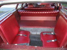 Photos: 1971 Ford LTD Country Squire Original 3rd Row Jump Seats