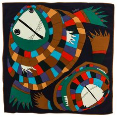 Exquisite Trimmings   Accessories   Pocket-Squares   Purple Face Your Monsters Pocket Square Rumisu is the product of two sisters who have created a whimsical world, to which everyone is invited. Their pocket squares feature their exclusive, hand drawn designs, which are produced from start to finish in Turkey. The pocket squares are printed on 100% silk crepe de chine. This fabric is perfect for pocket squares as it isn't as bulky as wool, but doesn't slide down into the pocket like the…