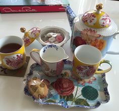 Afternoon tea by PiP Royal Studio. Beautiful tea set by Dutch designer