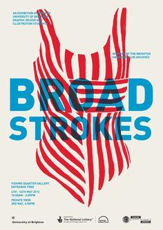 Jamie Rickett, Broad Strokes - Posters