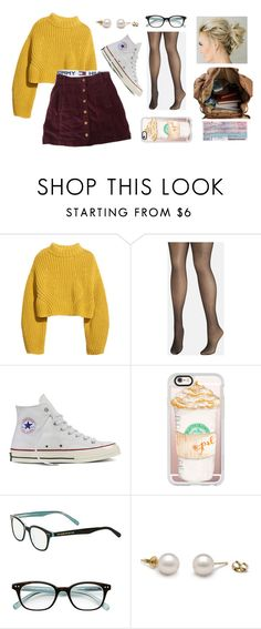 """Plane ride -Amber"" by lifeoflucy ❤ liked on Polyvore featuring H&M, Tommy Hilfiger, Avenue, Converse, Casetify and Kate Spade"
