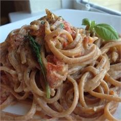 ****LW*****Roasted Red Pepper Cream Sauce - Allrecipes.com