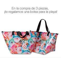 ¡Visita la boutique INTIMISSIMI #Calzedonia! En la compra de 3 piezas te regalamos una bolsa para la playa. #Queretaro