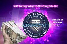 11 Best kbc winner list images in 2020 | Lottery winner, Lottery ...