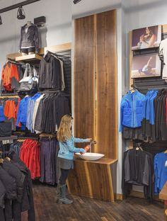 Lululemon Yorkdale store by Quadrangle Architects & Brothers Dressler, Toronto » Retail Design Blog