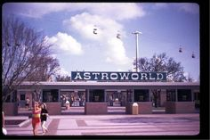 Astroworld.   Went there many times!  So much summer fun as a kid!