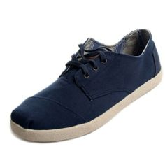 "These look like the ""old Winos"".   Member those ?....just sayin Toms Mens Paseos Navy Canvas"