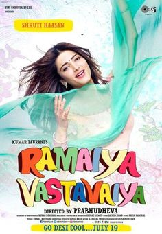 Ramaiya Vastavaiya Movie Poster #17 of 17. Download or View Ramaiya Vastavaiya Movie Poster #17 of Total 17 Posters.