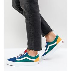 sale retailer 22978 24826 Vans Old Skool Sneaker In Primary Colourblock (1.235.615 IDR) ❤ liked on