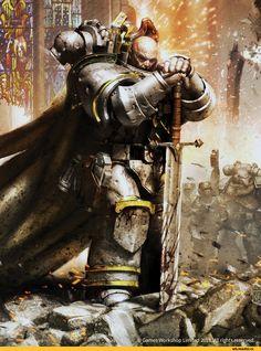 Warhammer 40000,warhammer40000, warhammer40k, warhammer 40k, ваха, сорокотысячник,фэндомы,Nathaniel Garro,Horus Heresy,Ересь Хоруса,Space Marine,Adeptus Astartes,Imperium,Империум
