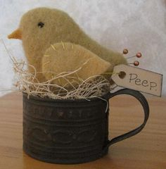 Isn't this just too cute? Easter Chick