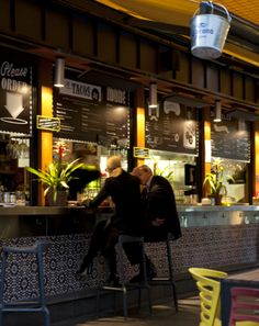 QSR concept Australia, Pacos Tacos, Mexican tiles, modern & Mexican look - for a takeout fast food concept restaurant