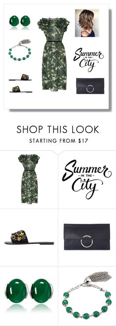 """""""Affordable Chic"""" by the-way-she-wears-it-finspo ❤ liked on Polyvore featuring Johanna Ortiz, MANGO and Karen Millen"""
