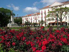 """Pocos de Caldas es conocido como uno de los mejores spas del país y ganó fama internacional como la """"ciudad de las rosas"""". Ver esta y otras bellezas de Brasil con el acceso del Ministerio de Turismo"""