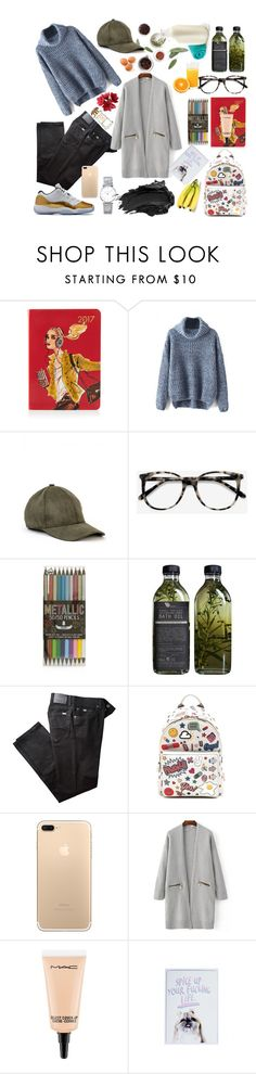 """""""the hangover college starter pack"""" by fabioladnc on Polyvore featuring Henri Bendel, Ace, Topshop, AMBRE, BRAX, Anya Hindmarch, MAC Cosmetics, Longines and Urban Decay"""