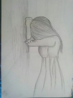 Drawing Girl Faces Sketches Manga Anime New Ideas Sad Drawings, Girl Drawing Sketches, Face Sketch, Art Drawings Sketches Simple, Pencil Art Drawings, Drawing Faces, Sketch It, Drawings Of Girls Faces, Beautiful Pencil Drawings