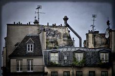 toits de paris architecture photographe : Jérôme Dancette