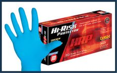 Medical Supplies Dash Medical Hi-Risk Protector Nitrile PF Examination Gloves, Buy in Bulk and Save Lowest Prices Guaranteed Nitrile Rubber, Male Doctor, Latex Gloves, High Risk, Medical Equipment, Latex Free, Fingers, Safety, Powder