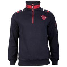 #Sweater mit sportivem Zipper von #CAMPIONE