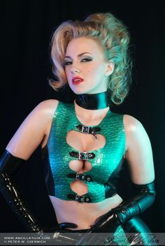 rubber, latex and pvc related BDSM photos. Ingress Enlightened, Hot Blondes, Boss Lady, Dress For You, Erotica, Sexy, Latex Outfit, Model, Leather