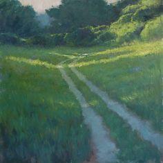"""""""High Summer"""" 24x24 in. Oil on Canvas. Steve Allrich"""