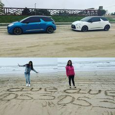 Genias! Maru y Anto! #FrienDS #DS3 #AbsolutelyDS #LoveDS #WeAreDS @dsargentina @ds_official #Landscapes #Playa #Beach