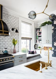The Light Spot - A Designer's Home That Takes Wallpaper To The Next Level - Photos