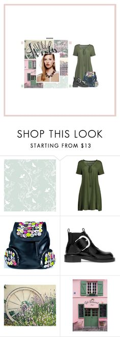 """away with the fairies, that one"" by shan-lou ❤ liked on Polyvore featuring Timorous Beasties, Current Mood, Maison Margiela and La Maison"