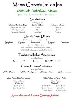 Barbecue Rehearsal Dinner Summer Bbq Catering Menu Great Ideas