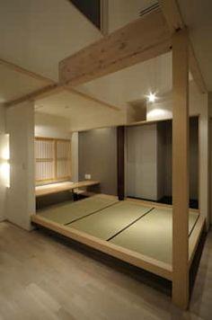 Home Office Design, Home Interior Design, Interior Architecture, House Design, Japanese Style House, Traditional Japanese House, Modern Japanese Interior, Tatami Room, Japan Interior