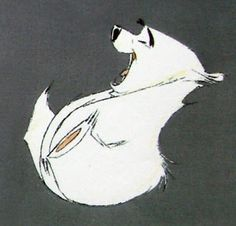 Living Lines Library: Balto (1995) - Characters, Production Drawings