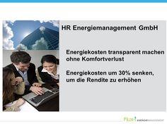 Energiedienstleistungen HR-Energiemanagenent GmbH   Folien aus dem 2015 Vortrag Energieberatung Fitnessstudio