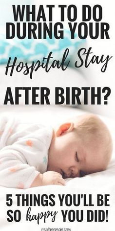 Things I'm Happy I Did During My Hospital Stay After Birth Make the most of your hospital stay after birth with these tips & tricks.Make the most of your hospital stay after birth with these tips & tricks. Postpartum Care, Postpartum Recovery, After Birth, After Baby, Preparing For Baby, Before Baby, First Time Moms, Baby Kind, Pregnancy Tips