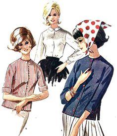 1960s Junior Blouse