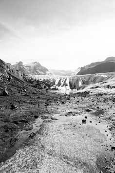 Even though the photo would have been more exciting with its colour shown. Black and white shows the texture of the landscape