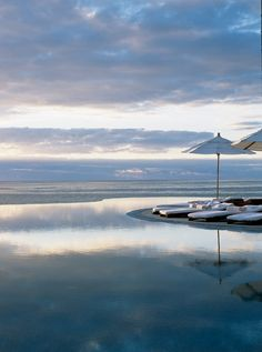 The infinity pool at Las Ventanas al Paraiso, A Rosewood Resort