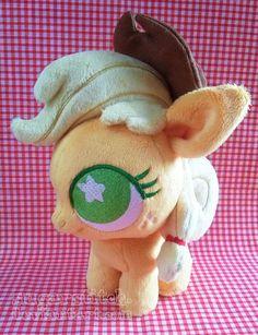 MLP FiM: Applejack Ponydoll by sugarstitch.deviantart.com on @deviantART