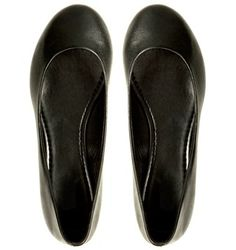 Black flats are a must in my shoe collection