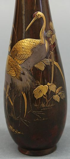 Buy online, view images and see past prices for Japanese Patinated Bronze Vase, Edo Period. Invaluable is the world's largest marketplace for art, antiques, and collectibles.