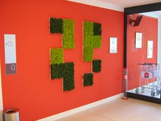 MOSS Wall & Projects: Accor Hotel  www.themossdesign.com  www.verdeprofilo.com #verdeprofilo #MOSS #WallProjects #design #MOSStile
