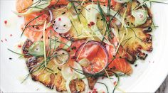 One Fresh Plate: Salmon, Pineapple And Fennel Salad #realfood #cultivate