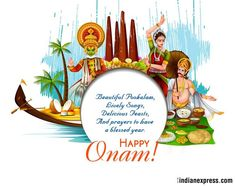 May the colour and lights of Onam fill your home with happiness and joy. Have the most beautiful Onam!