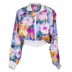 Vintage 90s Bold Floral Windbreaker – THE WAY WE WORE
