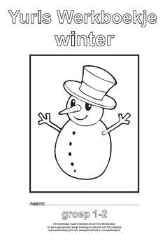 Yurls werkboekje winter - New Ideas Winter Crafts For Kids, Winter Kids, Winter Nail Art, Winter Art, Fun Experiments For Kids, Fun Classroom Activities, Hello Winter, School Lessons, Preschool Crafts